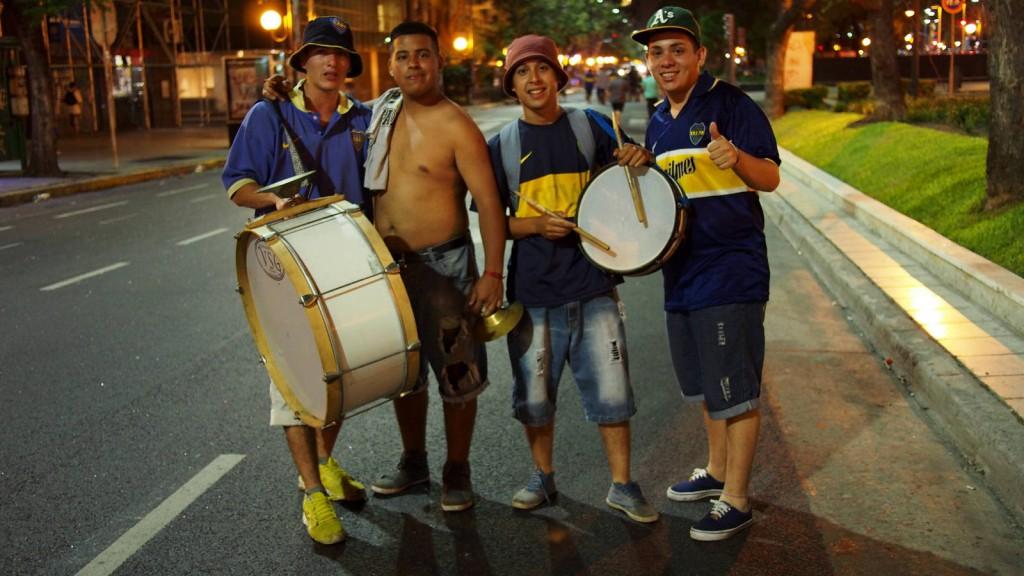 Болельщики на авениде 9 июля