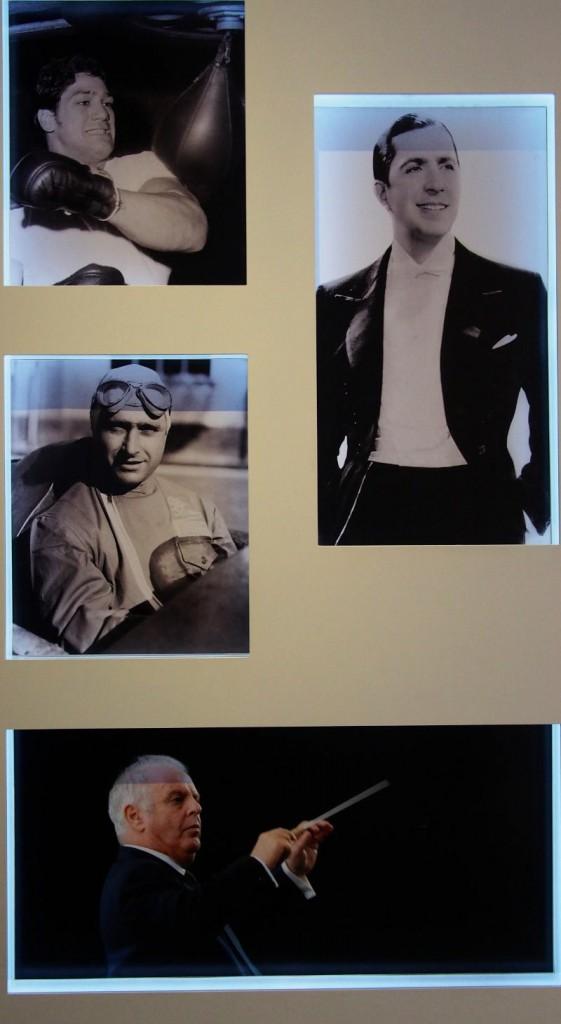 Галерея кумиров - Карлос Гардель (справа вверху)
