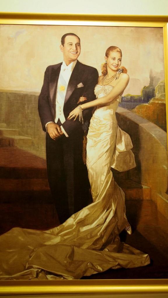 Портрет Эвы и Перона