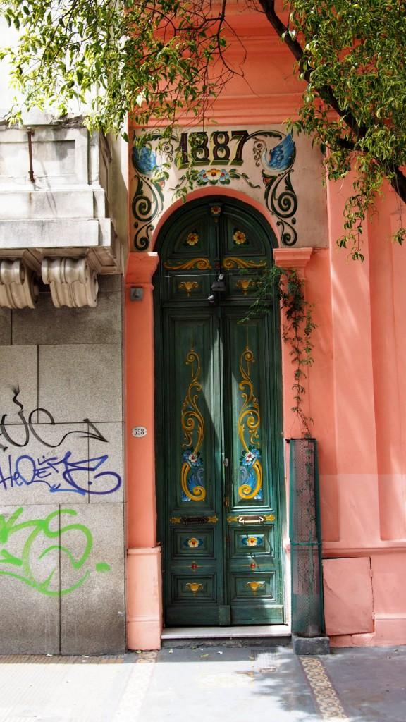 Сан Тельмо - дверь в стиле филетеадо