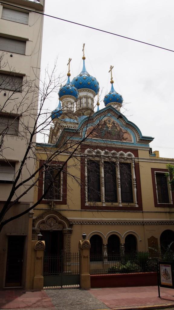 Сан Тельмо - русская церковь