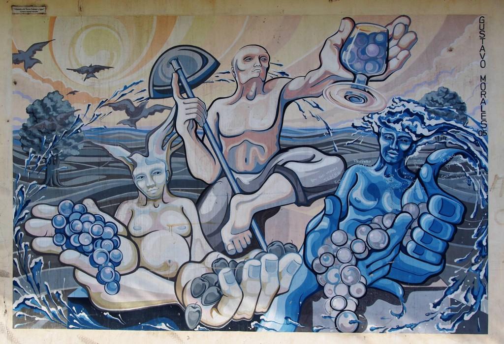 Граффити Бодеги Лопес - праздник