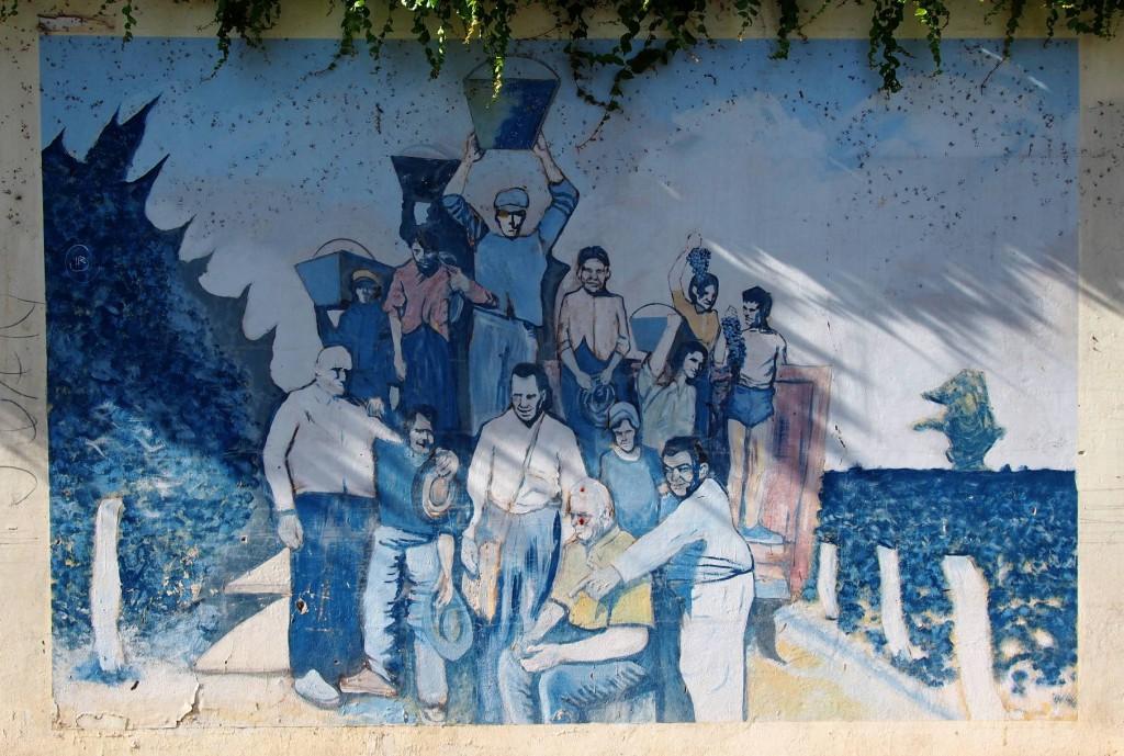 Граффити Бодеги Лопес - все на сбор урожая!