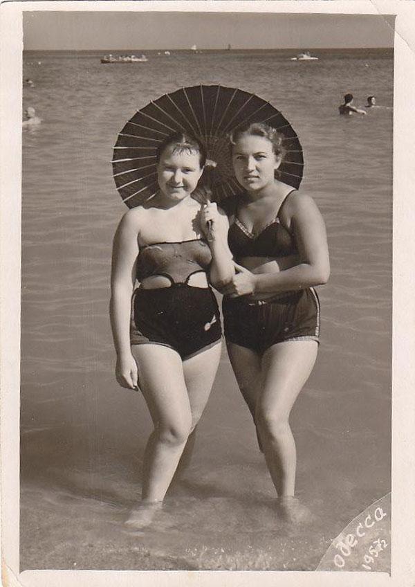 Девушки 1950-х