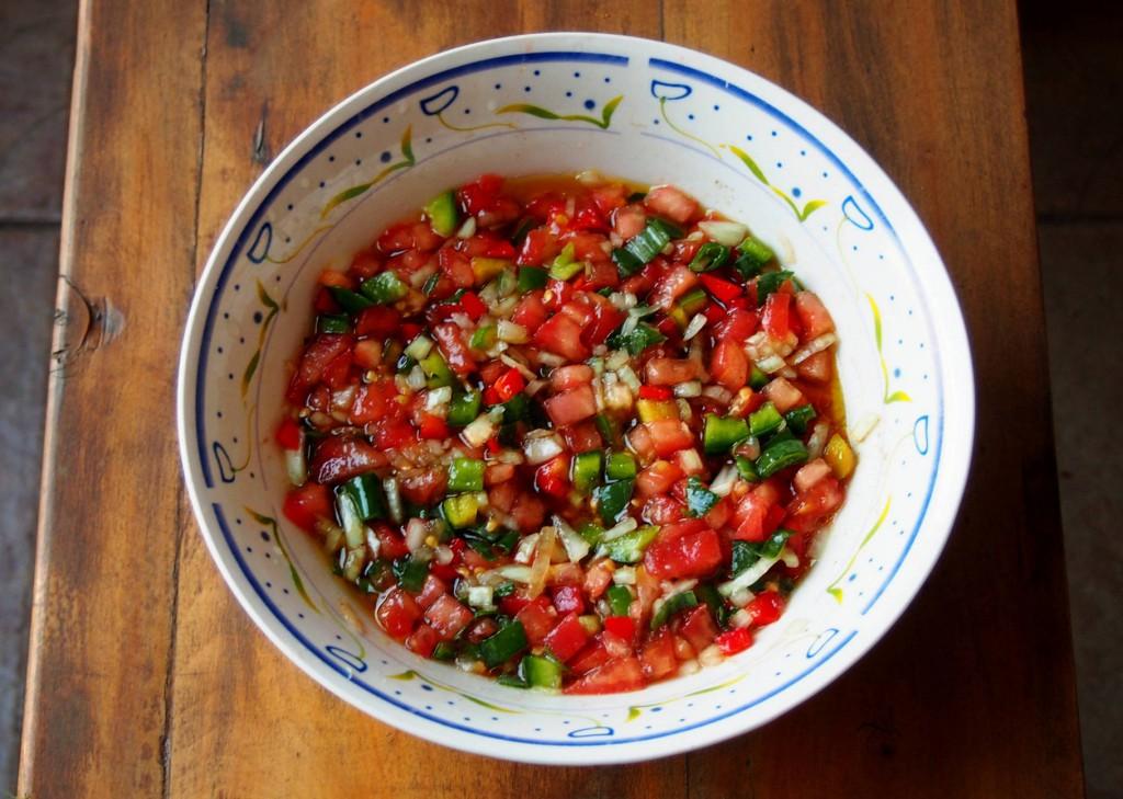 Креольский соус - salsa criolla