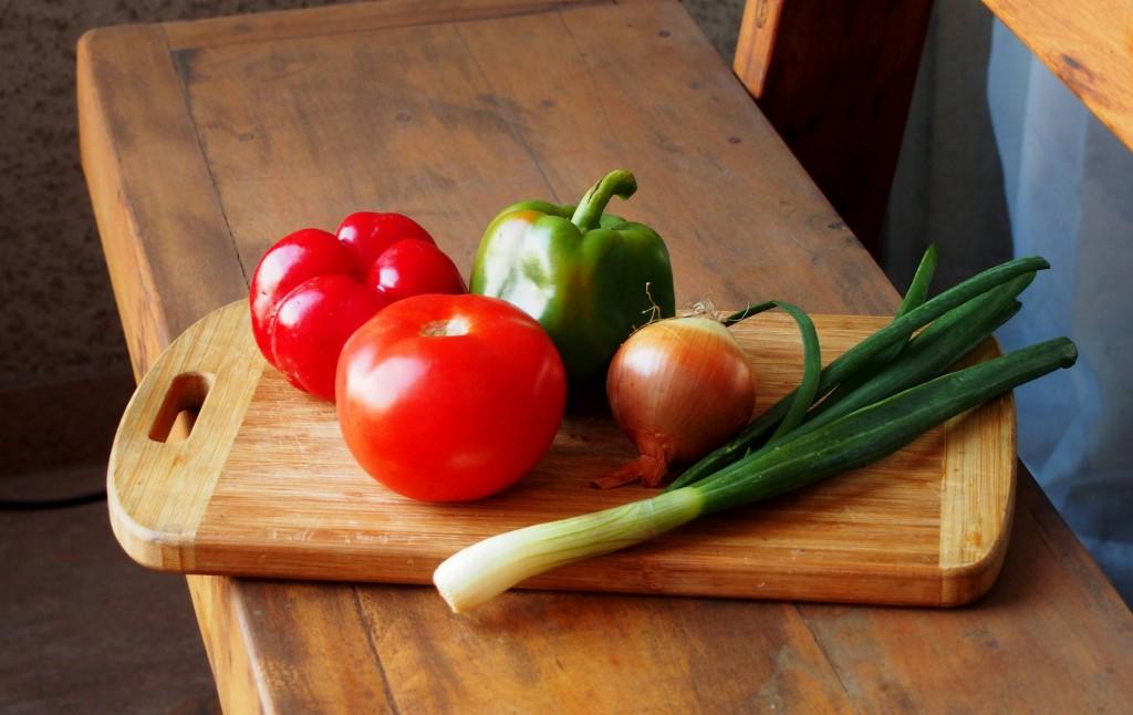 Овощи для креольского соуса