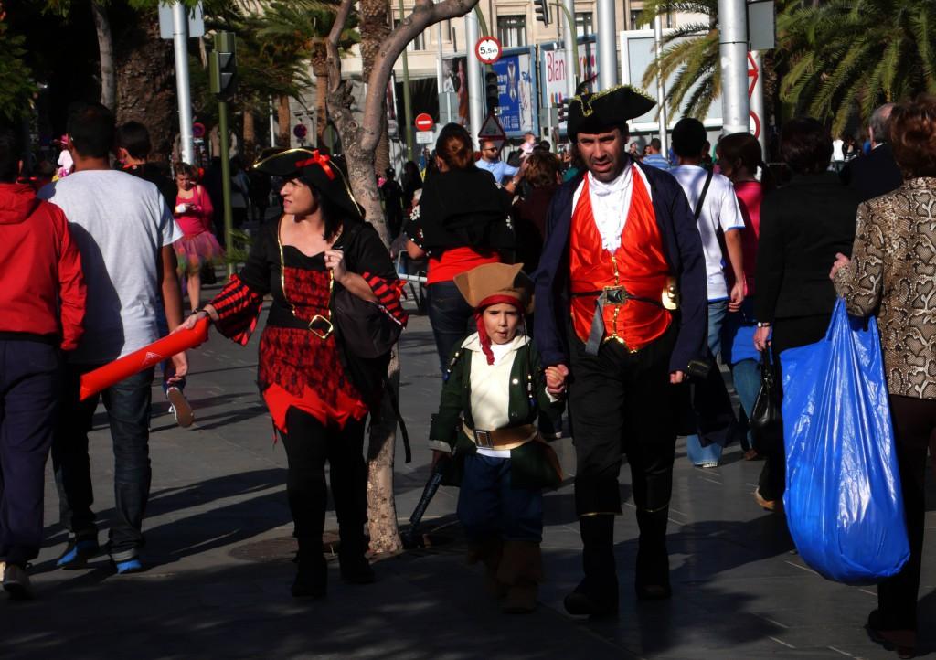 Дневной карнавал - семейное мероприятие