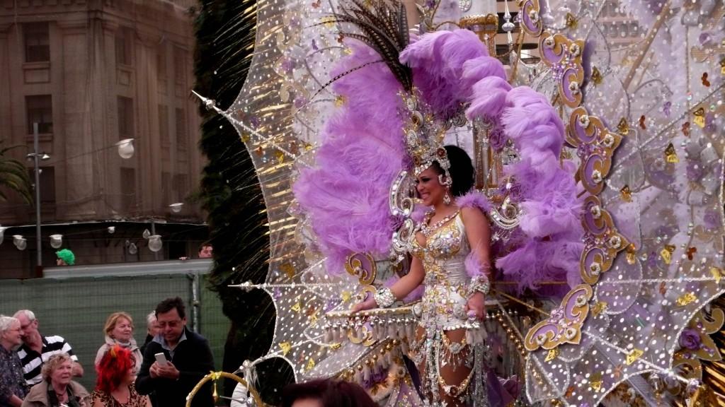 3-я королева карнавала.