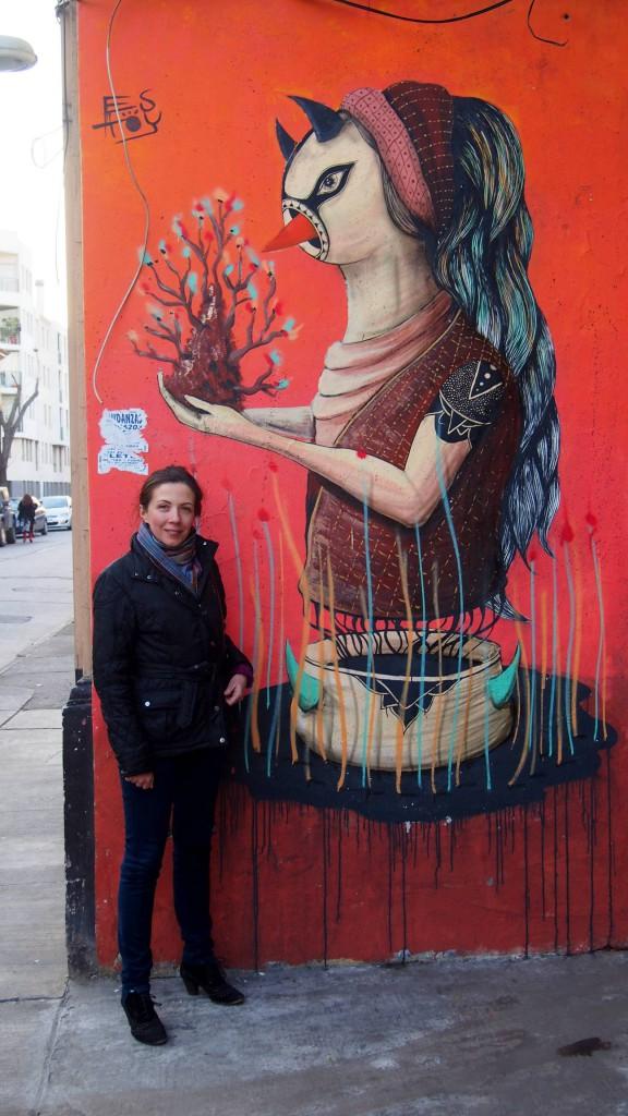 Гуляя по городу, встречаешь работы Родриго.