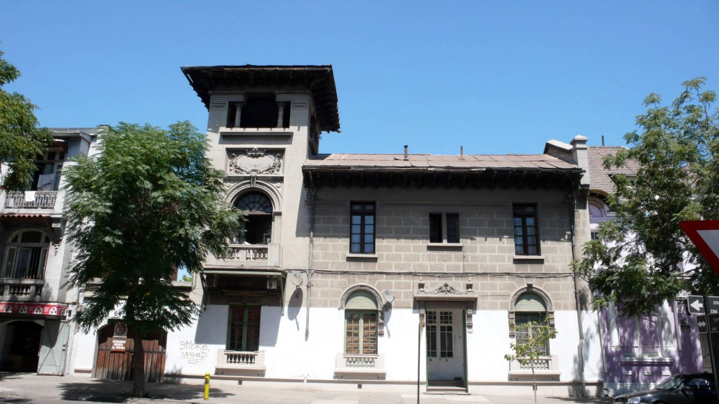 Особняк постройки 1920-х годов в районе Юнгай.