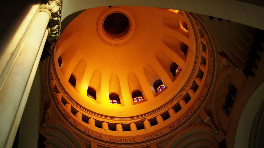 Купол базилики Лурдской богоматери