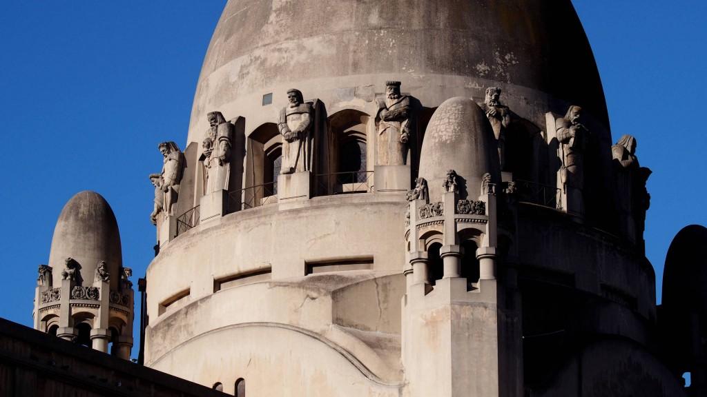 Статуи пророков - базилика Лурдской богоматери