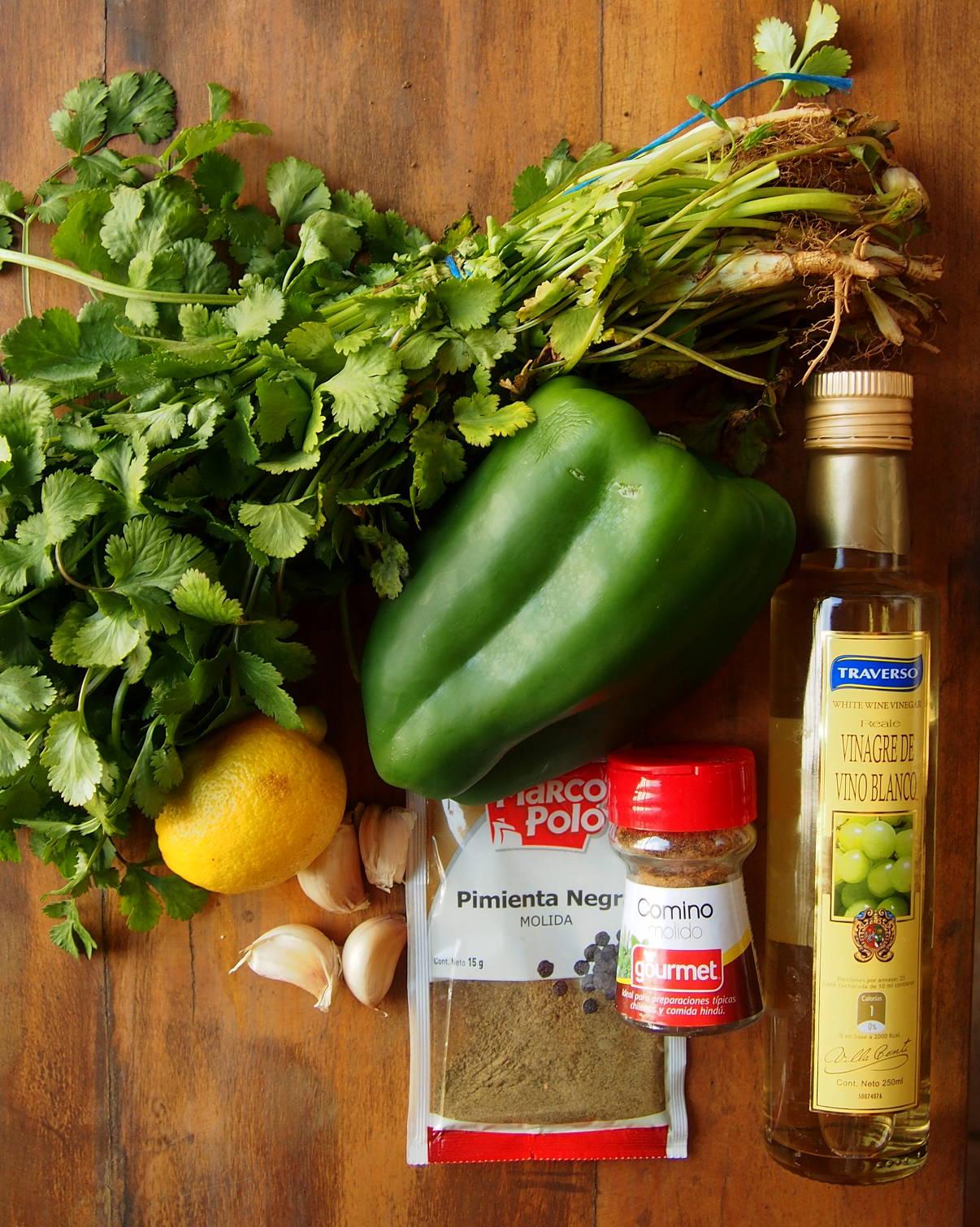 как приготовить соус рохо верде
