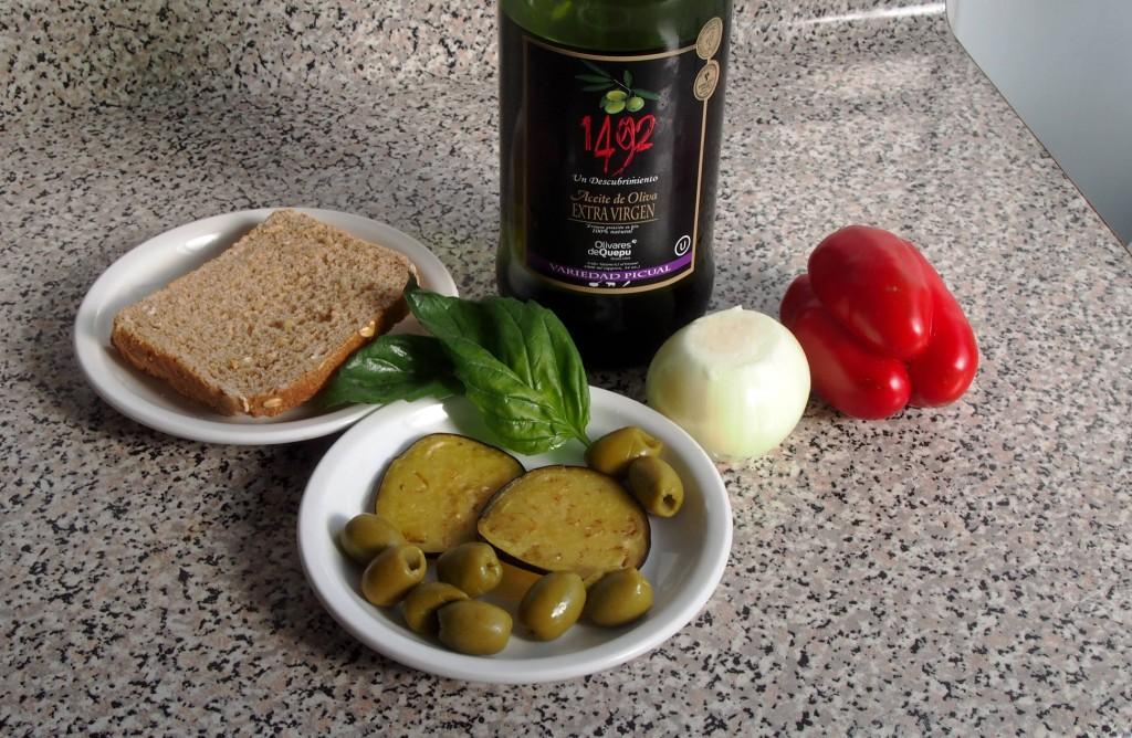 Вот из этих продуктов мой знакомый француз Пьер Виктор готовил себе сэндвич.