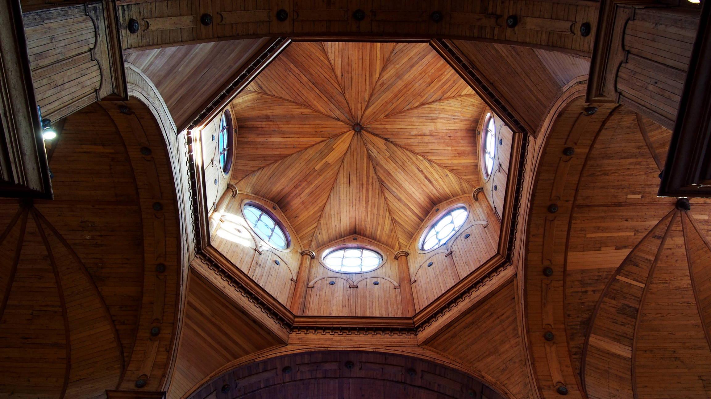 Купол собора в Кастро